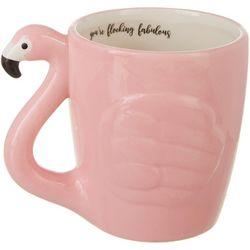 Tri Coastal Flocking Fabulous Flamingo Mug