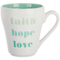Tri Coastal Faith Hope Love Mug
