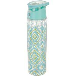 Key Lime Lexi Ikat Water Bottle