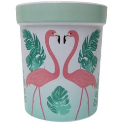 Coastal Kitchen Flamingo Pantry Crock