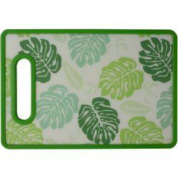Home Basics Large Leaf Cutting Board