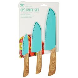 Coastal Kitchen 6-pc. Knife Set