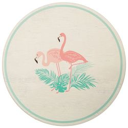 Coastal Kitchen Flamingo Pantry Lazy Susan