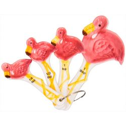 Home Essentials 4-pc. Flamingo Pantry Measuring Spoon Set