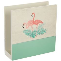 Coastal Kitchen Flamingo Pantry Napkin Holder