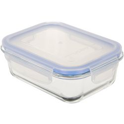 Home Essentials Fresh & Seal 21 oz. Glass Storage Container