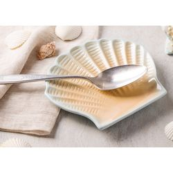 Home Essentials Scallop Shell Spoon Rest