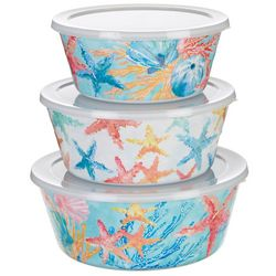 Tropix 3-pc. Aquatica Storage Containers
