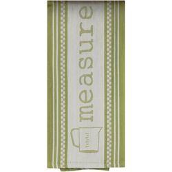 Key Lime Lexi Measure Jacquard Tea Towel