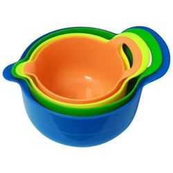 Gourmet Home Products 4-pc. Multi-color Mixing Bowl Set