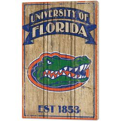 Wincraft Florida Gators Vintage Wood Sign