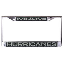 Wincraft Miami Hurricanes License Plate Frame