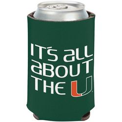 Wincraft Miami Hurricanes Flat Can Cooler