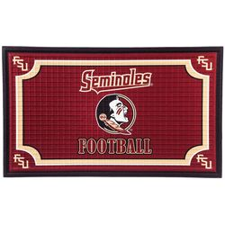 Florida State Embossed Door Mat by Evergreen