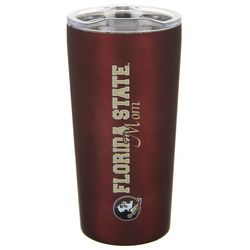 The Fanatic Group 18 oz. Florida State Mom Tumbler With Lid