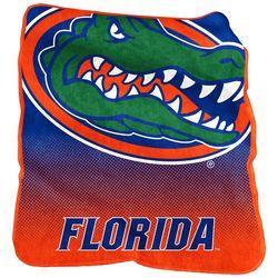 Florida Gators Raschel Plush Throw by Logo Brands
