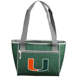 Logo Athletics Miami Hurricanes 16 Can Cooler
