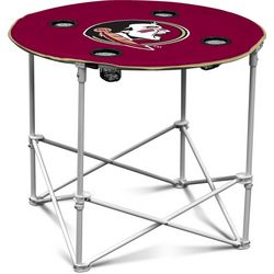 Florida State Portable Round Table by Logo Brands