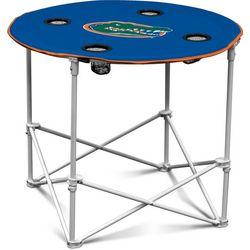 Florida Gators Portable Round Table by Logo Brands