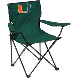 Miami Hurricanes Quad Chair by Logo Brands