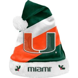 University of Miami Mens Team Logo Hat by Team Beans