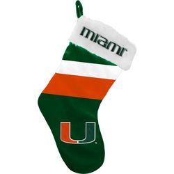 University Of Miami Team Logo Stocking by Team Beans