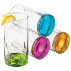 Libbey 4-pc. Impressions Colors Highball Glass Set