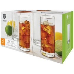 Libbey 8-pc. Facets Cooler Glass Set
