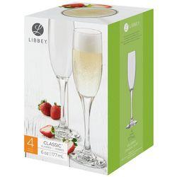 Libbey 4-pc. Classic Champagne Flute Glass Set