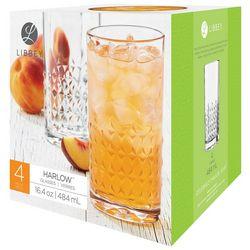 Libbey 4-pc. Harlow Glassware Set