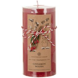 Chesapeake Bay Candle 6'' Cinnamon Woods Pillar Candle