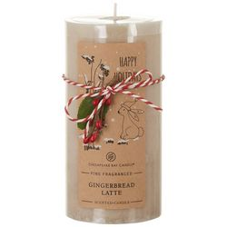 Chesapeake Bay Candle 6'' Gingerbread Latte Pillar Candle