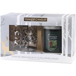 Yankee Candle 2-pc. Balsam & Cedar Candle & Sleeve Set