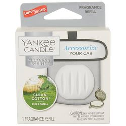 Yankee Candle Clean Cotton Car Fragrance Refill
