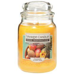 Yankee Candle 19 oz. Island Mango Coconut Candle