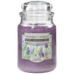 Yankee Candle 19 oz. Lovely Lavender Candle