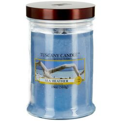 Tuscany 18 oz. Sea Heather Jar Candle