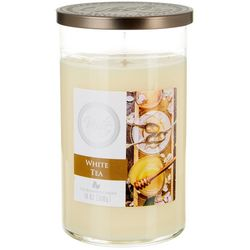 Vesta 18 oz. White Tea Jar Candle
