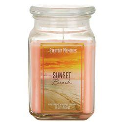 Everyday Memories 17 oz. Sunset Beach Jar Candle