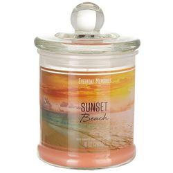 Everyday Memories 10 oz. Sunset Beach Jar Candle