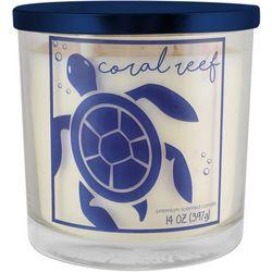 Tuscany 14 oz. Coral Reef Jar Candle