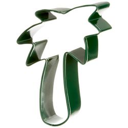 R&M International Green Palm Tree Cookie Cutter
