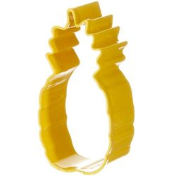R&M International Yellow Pineapple Cookie Cutter