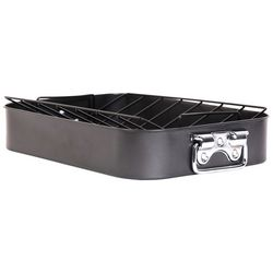 Gibson Top Roast Non-Stick Roaster With Rack