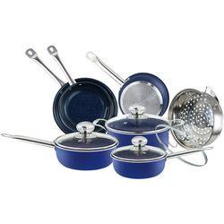 Simple & Co 11-pc. Blue Sapphire Cookware Set