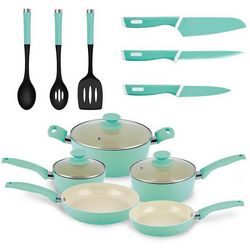 IKO 14-pc. Crema Collection Cookware Set