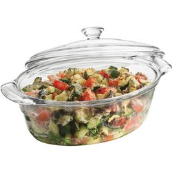 Libbey Baker's Basics Premium 2 Qt. Casserole Dish