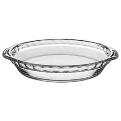 Libbey Baker's Basics 9'' Glass Pie Dish