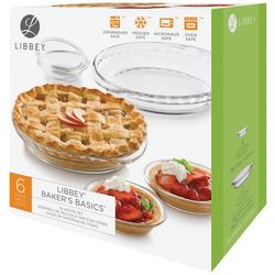 Libbey 6-pc. Glass Pie Set