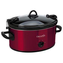 Crock-Pot 6-qt. Red Cook & Carry Slow Cooker